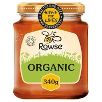Rowse organic pure honey clear