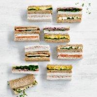 Image of Finger sandwich platter