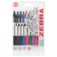 Zebra Z-Grip Ball Point Pens