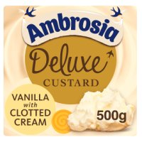 Ambrosia Deluxe Custard Vanilla with Clotted Cream