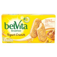 Belvita breakfast yogurt crunch honey & yogurt