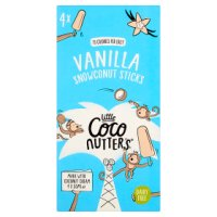 Little Coco Nutters 4 Mini Coconut & Vanilla Sticks