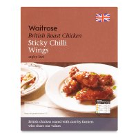 Waitrose British sticky chilli roast chicken wings