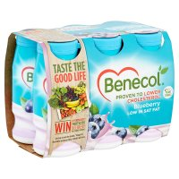 Benecol blueberry yogurt drinks