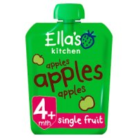 Ella's Kitchen Organic first tastes apples apples apples baby food