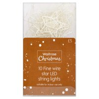 Waitrose Christmas Star LED Lights
