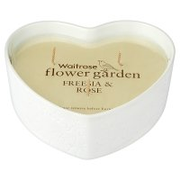 Waitrose Heart Shape Freesia & Rose