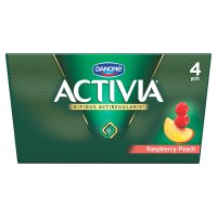 Activia Raspberry & Peach Yogurt
