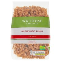 Waitrose LOVE life wholewheat fusilli
