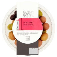 Waitrose 1 olive trio selection
