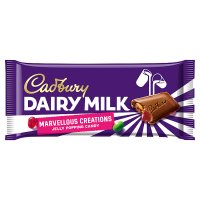 Cadbury Dairy Milk Marvellous Smashables jelly popping candy