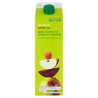 Waitrose LOVE life apple, beetroot & raspberry smoothie