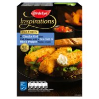 Birds Eye Inspirations Fish Fingers Panko Crumb