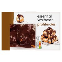essential Waitrose profiteroles