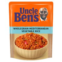 Uncle Ben's special wholegrain & Mediterranean vegetable rice