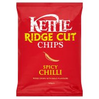 Kettle ridge cut chips spicy chilli