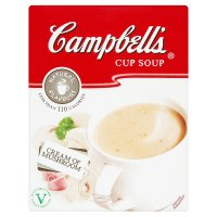 Campbell's mushroom cup soup