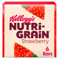 Kellogg's Nutri Grain 6 Strawberry Bars