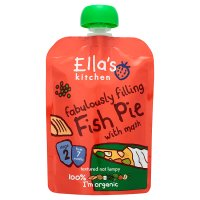 Ella's Kitchen Organic fabulously filling fish pie with mash - stage 2 baby food