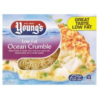 Young's Admiral's low fat ocean crumble