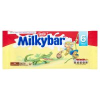 Milkybar white chocolate bar multipack