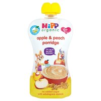 HiPP Organic Apple & Peach Porridge