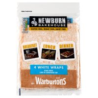 Newburn Bakehouse White Wraps