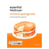 essential Waitrose victoria sponge mix