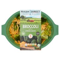 Mash Direct Broccoli with a Cheese Sauce