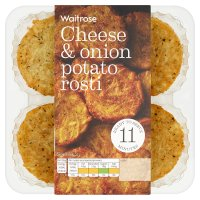 Waitrose Cheese & Onion Potato Rosti