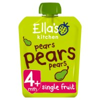 Ella's Kitchen Organic first tastes pears pears pears baby food