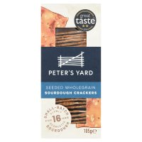 Peter's Yard crispbread seeded wholegrain