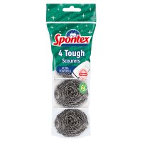 Spontex 4 Tough Scourers
