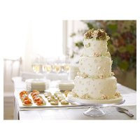 Fiona Cairns Vintage Fairytale 3-tier Wedding Cake (Sponge)