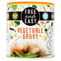 Free & Easy Vegetable Gravy Mix