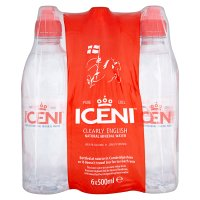 Iceni natural still mineral water