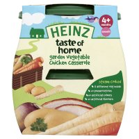 Heinz taste of home garden vegetable chicken casserole - stage 1
