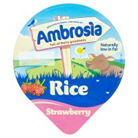 Ambrosia rice strawberry
