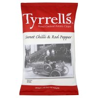 Tyrrell's sweet chilli & red pepper potato chips