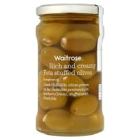 Waitrose Feta Stuffed Olives