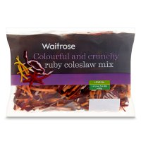 Waitrose Coleslaw mix ruby