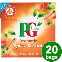PG Tips aromatic spices & mint 20 bags