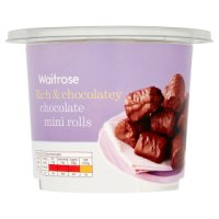 Waitrose chocolate mini rolls