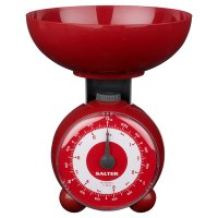 Salter red orb mechanical scale