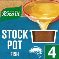 Knorr fish 4 pack stock pot