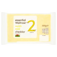 essential Waitrose Welsh Mild Cheddar Strength 3
