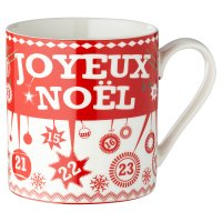 Waitrose Scandi Advent Mug