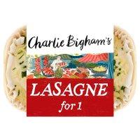 Charlie Bighams Lasagne.