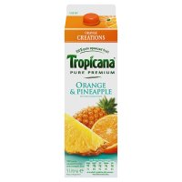 Tropicana orange & pineapple juice