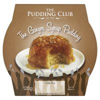 The Pudding Club the ginger syrup pudding